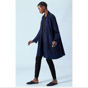 New Eileen Fisher enveloping wool open jacket XS